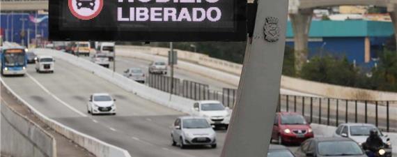 Coronavírus: São Paulo suspende rodízio de carros