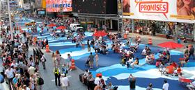 Pinturas no asfalto: um projeto para revitalizar cidades nos EUA com arte