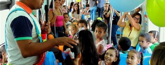 VLT de Maceió fará viagens com os pequenos na Semana da Criança