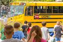 O ônibus escolar elétrico, feito no Canadá