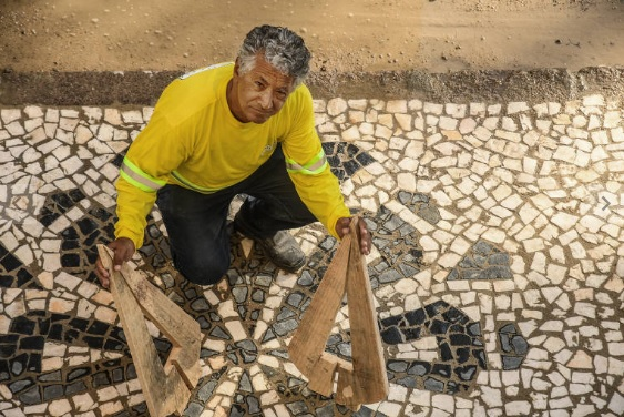 Sebastião Santana de Souza, calceteiro