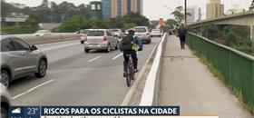 Trânsito da cidade de SP já matou 16 ciclistas até setembro