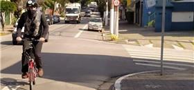 Ciclovias em São Paulo ficam incompletas, reclamam usuários