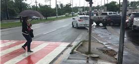 Em São Luís, o caminhar não é prioridade