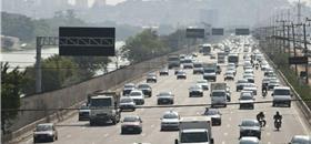 Poluição afeta motorista mesmo ficando pouco tempo no trânsito