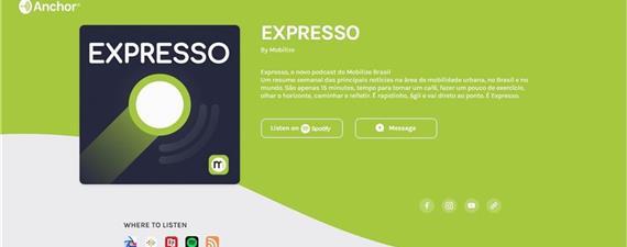 Ouça o Expresso, nosso novo podcast!