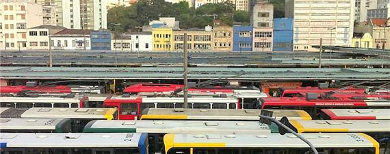 Refém do diesel, transporte de São Paulo pode parar