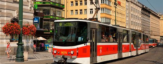 Praga testa sistema anticolisão em VLTs