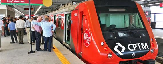 Trem expresso do centro de SP ao aeroporto de Guarulhos inicia hoje (16)
