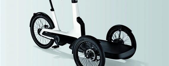 Cargo e-Bike, o triciclo elétrico da Volkswagen