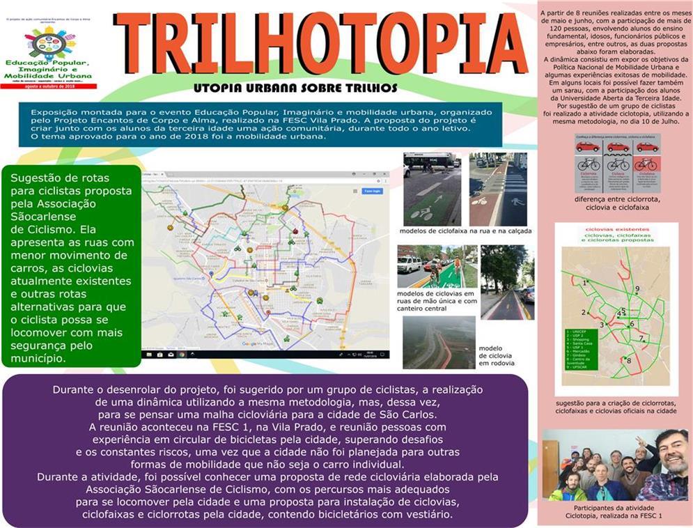 Trilhotopia: utopias urbanas sobre trilhos