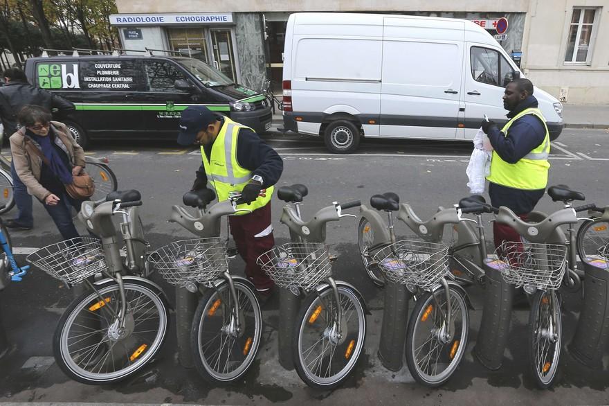 Vélib: manutenção como fonte de inovações ao siste
