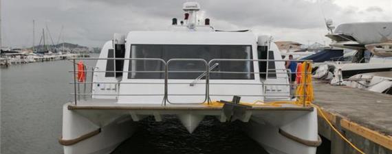Catamarã com 180 lugares ligará cidades da Grande Florianópolis