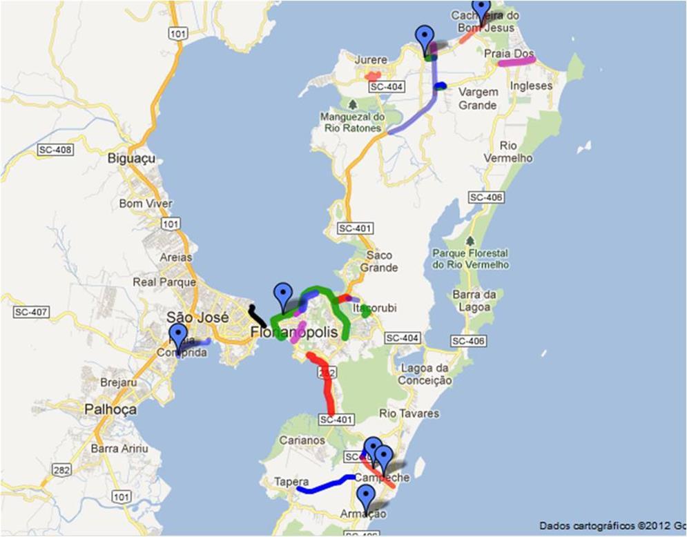 Vias Ciclísticas de Florianópolis