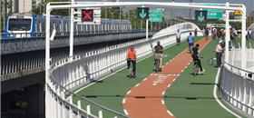 Beijing, na China, inaugura sua primeira ciclovia