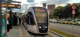VLT do Rio inicia testes entre Central do Brasil e Gamboa