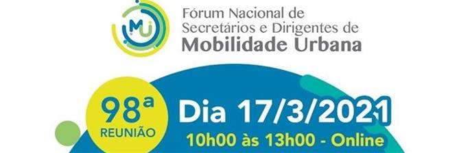 Reunião do Fórum Nacional de Secretários e Dirigentes de Mobilidade