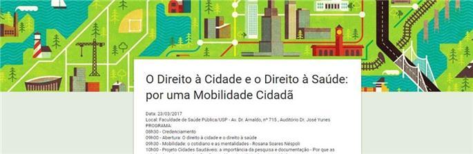 O direito à cidade e o direito à saúde: por uma mobilidade cidadã