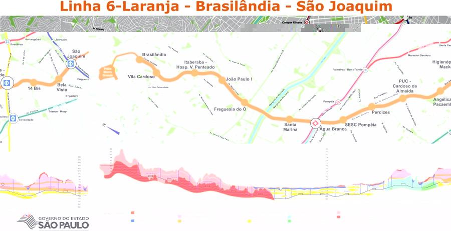 metro bela vista mapa Meu Transporte News  Metrô: Obra da Linha 6 Laranja afetará três  metro bela vista mapa