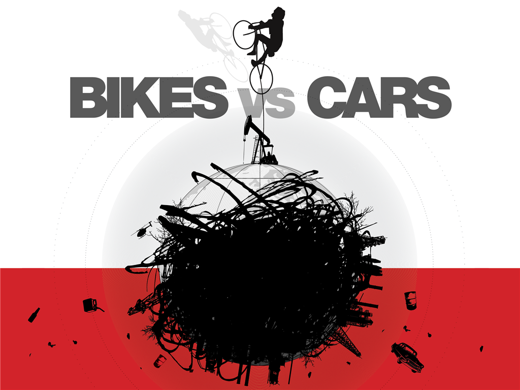 Bikes Vs Cars Trailer Bike vs Cars