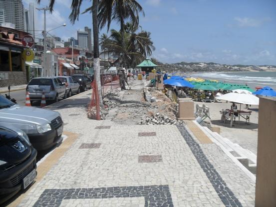 Artesanato Com Cd Passo A Passo ~ Acessibilidade na obra do calçad u00e3o da praia em Natal