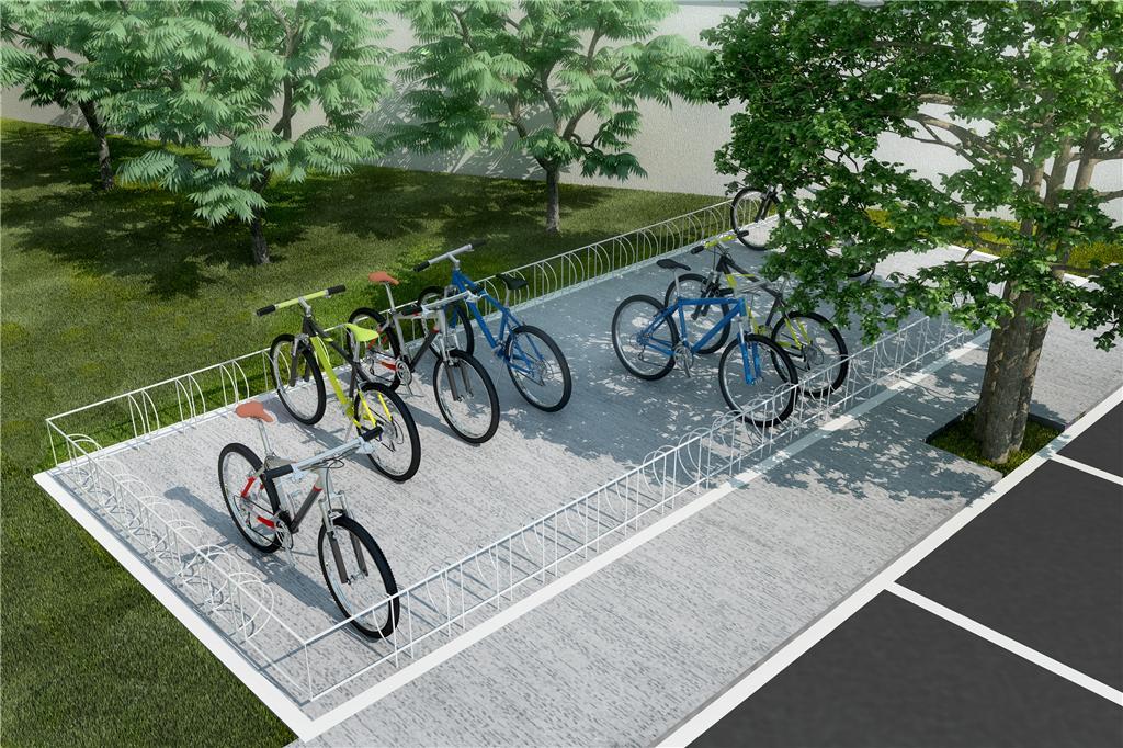 Resultado de imagem para bicicletario