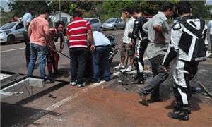 70% dos acidentes em Cuiabá envolvem motociclistas
