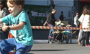 A Av. Paulista aberta aos pedestres e ciclistas