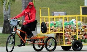 A bicicleta de alumínio Ciclolix