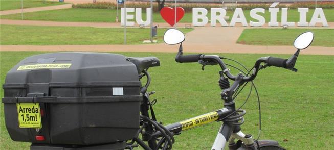 A bike de Uirá Lourenço preparada para a vida urba