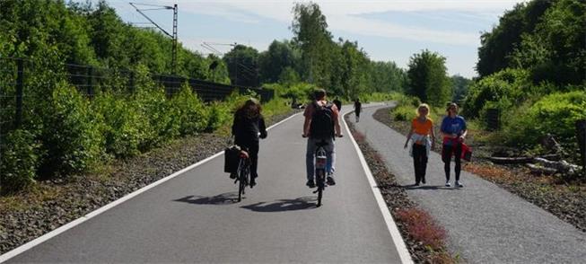A chamada 'Radschnelweg Ruhr', autoestrada para ci