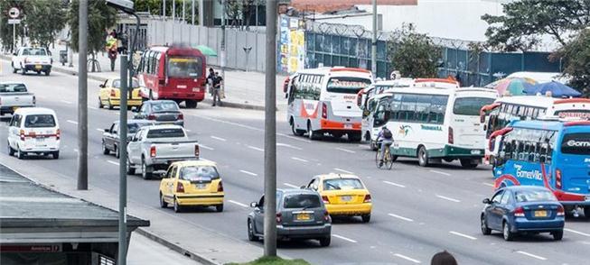 A diversidade do transporte público na Colômbia