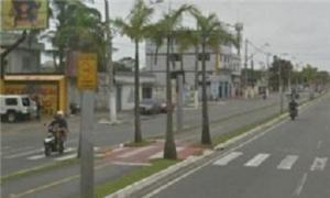 A nova ciclovia de Praia Grande