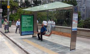 Abrigo instalado no centro de São Paulo