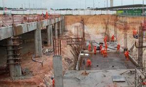 Aeroporto Eduardo Gomes já tem 55% das obras pront