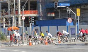 Agora, São Paulo tem cerca de 70 km de ciclovias