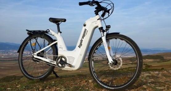 Alpha 2.0, a nova e-bike movida a hidrogênio