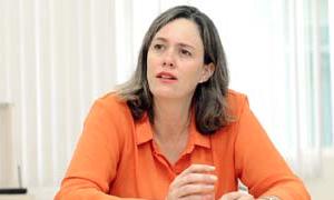 Andrea Soares, secretária de mobilidade urbana de