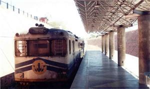 Antigo trem do metrô de Terezina