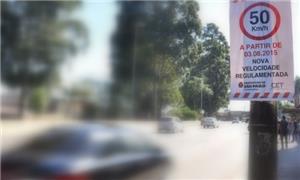 ANTP apoia redução da velocidade em ruas e avenida