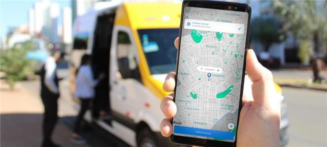 Aplicativo organiza viagens de vans e mini ônibus
