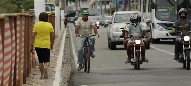 Aracaju: falta infraestrutura para a mobilidade at