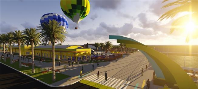 Área de 114.550 m² será transformada em