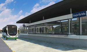 Arte mostra como serão as estações do BRT