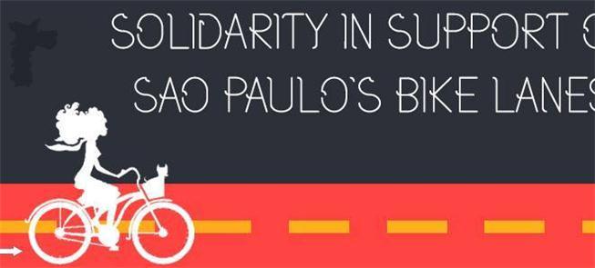 Ato terá apoio de ciclistas ingleses, italianos, a