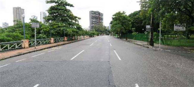 Av. Rui Barbosa começa a se tornar uma rota caminh