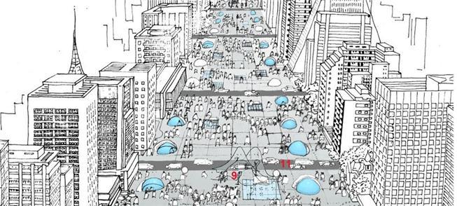 Avenidas para pessoas, não para máquinas