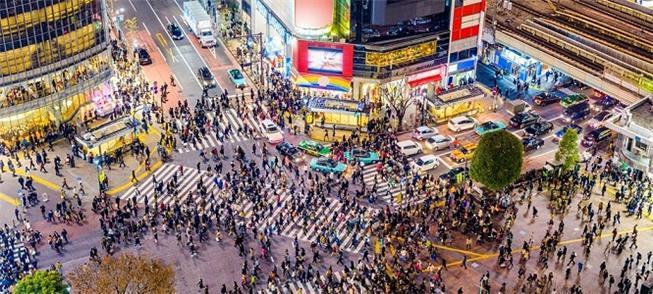 Bairro Shibuya: um formigueiro de gente atravessa