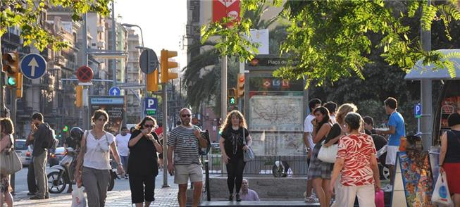 Barcelona: só 23,2% dos deslocamentos por carro (d