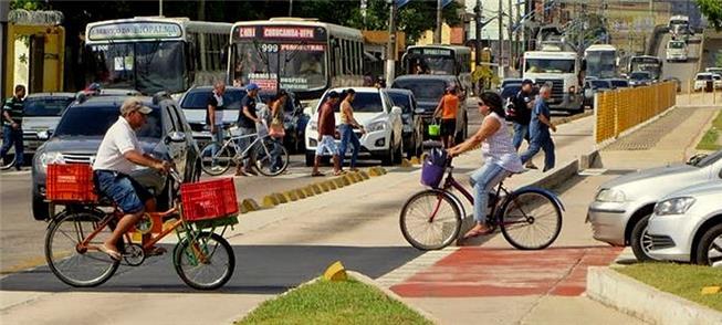 Belém: bicicletas já ocupam as ruas, mas falta inf